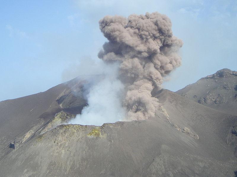 Fuming Mt. Stromboli