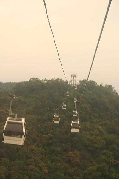 Gondola Ride Towards Maokong