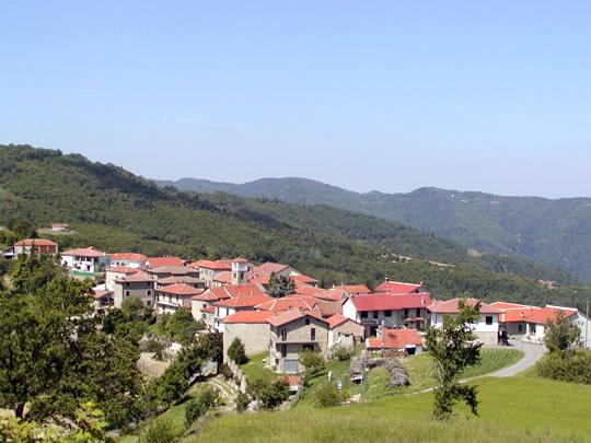 panorama of Bergolo vilalge