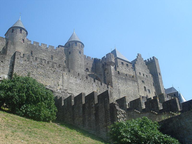 Carcasonne city rwall