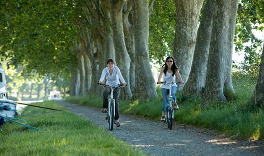 bike ride canal