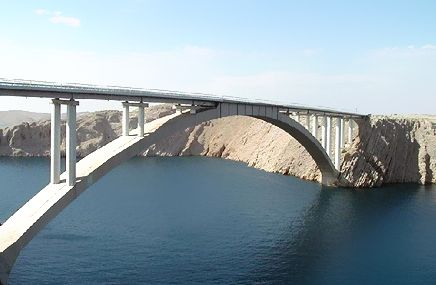 bridge to pag island