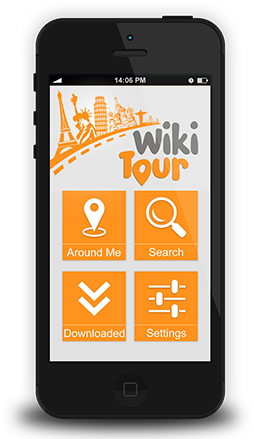 wikitour app on iphone