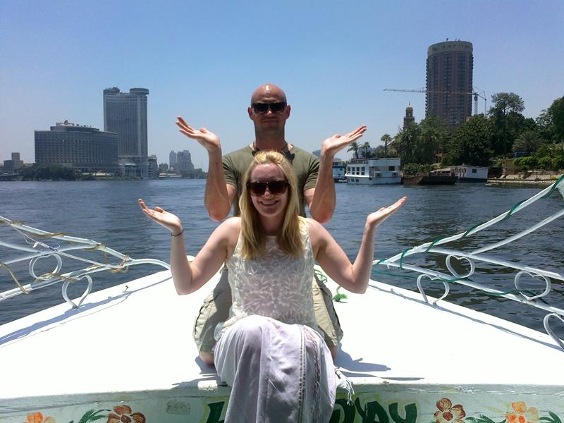 felukka ride on Nile