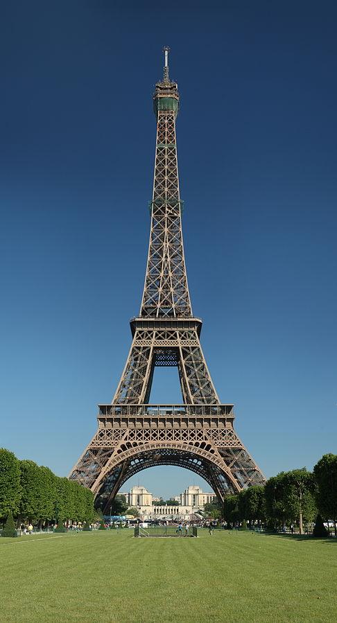 Eiffel Tower from Champ de Mars