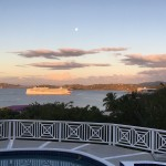 amazing sunset from Villa Marbella